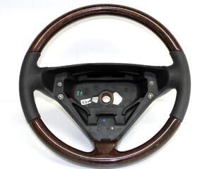 Für Mercedes R171 SLK Lenkrad Leder Holz Wurzelholz Baujahr 2004-2007