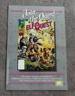 ELFQUEST #1 Comic 1985 Wendy Richard Pini PROMO WaRP Epic Marvel Poster VG