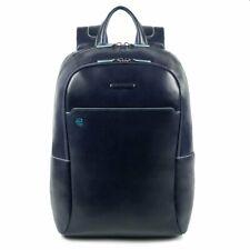 Man backpack Piquadro Blue Square CA4762B2/BLU2 in leather laptop ipad rucksack