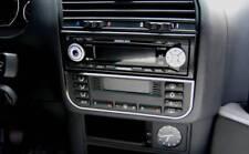 D BMW E36 Chrom Rahmen für Klimabedienteil Edelstahl poliert