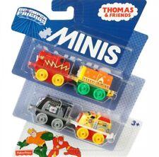 Thomas & Friends Minis DC Super Friends 4pk Flash Aquaman, Etc, Box Bit Damaged!