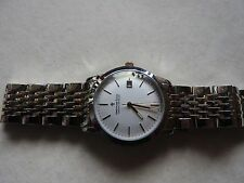 NEW DREYFUSS & CO GENTS SERIES 1890 QUARTZ HAND MADE SWISS  WATCH BI-METAL STRAP