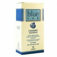 Blue cap shampoo against psoriasis dermatitis eczema hydrates skin 75ml