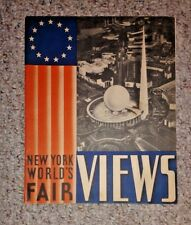 Vintage Booklet NY WORLD'S FAIR VIEWS 1939 oversize