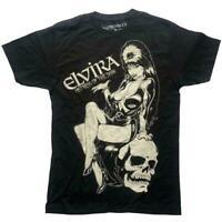 Kreepsville 666 Elvira T-Shirt Comic Skull Mistress of the Dark New S-3XL