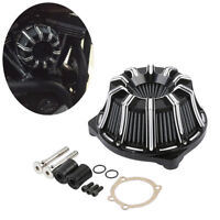 Inverted Air Filter Cleaner Kit Fit For Harley Dyna Street Bob Low Rider Fat Bob