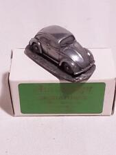 AUTOSCUPT VW BEETLE BUG Split Model car Pewter Material 1:92 Scale