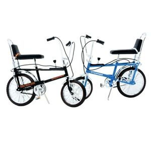 Black & Blue Raleigh Chopper MK1 Collectable Diecast Model The Hot One RARE !