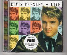 (HK20) Elvis Presley, Live - CD