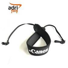 TRACOLLA CINGHIA NERA eos Neck Strap Nylon fotocamera CANON EOS Compatibile nera