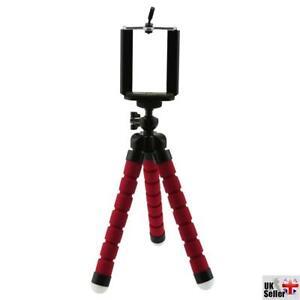 Red Small Flexible Octopus Tripod / Gorillapod for Digital Camera / Mobile Phone