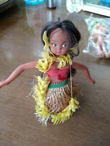 Vintage Mechanical Wind Up Hawaiian Dancer Hula Hula Native Girl