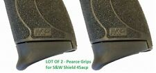 Lot of 2 - Pearce Grip S&W M&P Shield 45 Magazine Grip Extension PG-MPS45