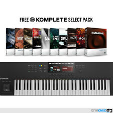 NI Komplete Kontrol S61 MK2 + Free Komplete Select, Native Instruments Keyboard