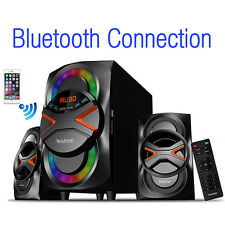Boytone Bluetooth Powerful Home Theater Speaker System with FM Radio (BT-326F)