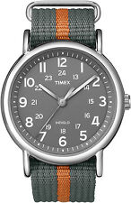 Timex Weekender Quartz Watch T2N649, Nylon strap and Indiglo Night Light