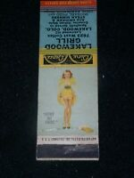 Lakewood Grill,Lakewood Colorado vintage 1930s/40s  Matchbook Cover w/Girly Cvr