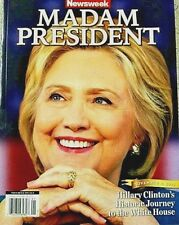 Newsweek Magazine Hillary Clinton MADAM PRESIDENT Recalled Commemorative Edition