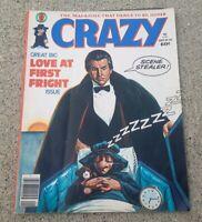 CRAZY # 54 MARVEL COMIC MAGAZINE HOWARD THE DUCK DRACULA VIC MARTIN comedy humor