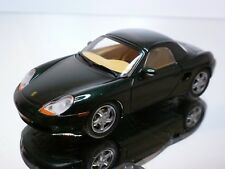 SCHUCO PORSCHE BOXSTER - GREEN METALLIC 1:43 - EXCELLENT CONDITION - 4