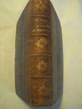LE VICAIRE DE WAKEFIELD /GOLDSMITH /TEXTE ANGLAIS ET FRANCAIS/ BOURGUELERET 1838