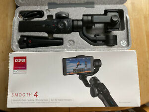Zhiyun Smooth 4 3-Axis Gimbal Stabilizer for Smartphone Mobile 210g Payload