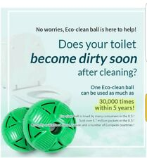 Eco-friendly Toilet Cleaning Balls