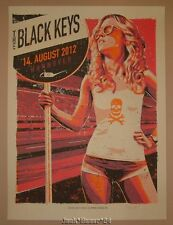 The Black Keys Hannover Poster Print Lars P. Krause Signed & Numbered 2012 Art