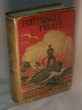 Ralph Henry Barbour PUD PRINGLE PIRATE First Edition Boy's Adventure Novel in dj