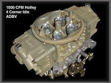 Holley 1000 HP TMP Carbs prepared double pumper, NEW
