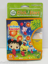 Leap Frog Click Start ~~ Nickelodeon ni hao Kai-lan ~ Age 3-6 ~ New!