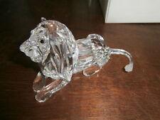 Swarovski jaarstuk de Leeuw 1995 / Swarovski year piece Lion 1995