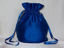 Royal blue/ Mid blue satin dolly bag for bridemaids / evening wear/ prom