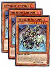 Playset 3X INFERNOID SEITSEMAS  Comune in Italiano SECE-IT017 YUGIOH