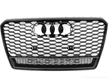 Genuine AUDI RS7 Quattro Grille Assembly Glossy Black Carbon 4G8853651FT94