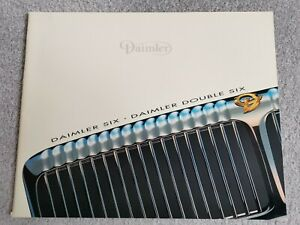 Daimler Six 4.0 & Double Six 6.0 UK Market Brochure 1996 30x24cm 30 Pages