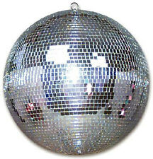20 INCH BEAUTIFUL SILVER MIRROR BALL party supplies disco balls lights hang spin