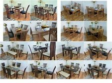 Wooden Table & Chair Sets with Drop Leaf and 5 Pieces