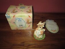 Enesco My Blushing Bunnies Figurine You're a Blessing From Above #157007