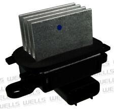 HVAC Blower Motor Resistor Front WVE BY NTK 4P1590
