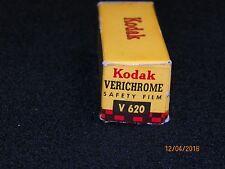 Vtg Kodak V  620 film  Develop before dated 1955  Very Rare  L@@K!