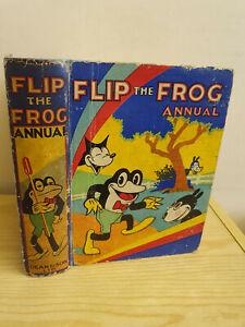 FLIP THE FROG ANNUAL 1932 - Ub Iwerks - scarce