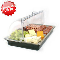 Countertop Chilled Display Food Sandwich Cheese Vegetable Cool Display Unit