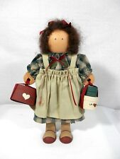 "Doll Adorable Lizzie High ""Madeline Valentine"" Wooden Doll"