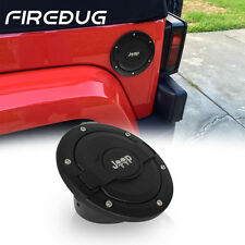 Firebug Jeep Wrangler Fuel Tanks Cover, Jeep JK Unlimited Accessories, Black