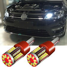 Pair LED Error Free Canbus Side Light Beam 57 SMD Bulb Upgrade For Opel Vectra C
