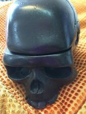 SKULL ASHTRAY Dark stash box LID TOP trinket boxes SKULLS  DAY OF THE DEAD.