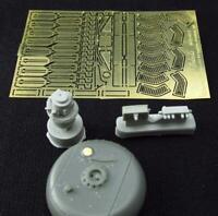 Metallic Details MDR4820 - 1/48 - AH-64 Apache. LongBow Radar PE & resin parts