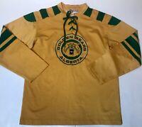 New University of Alberta Golden Bears Mens Medium Hockey Jersey
