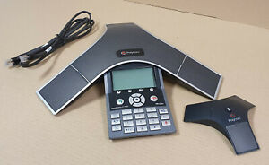 Polycom SoundStation IP7000 VoIP-PoE Konferenztelefon P/N: 2201-40000-001